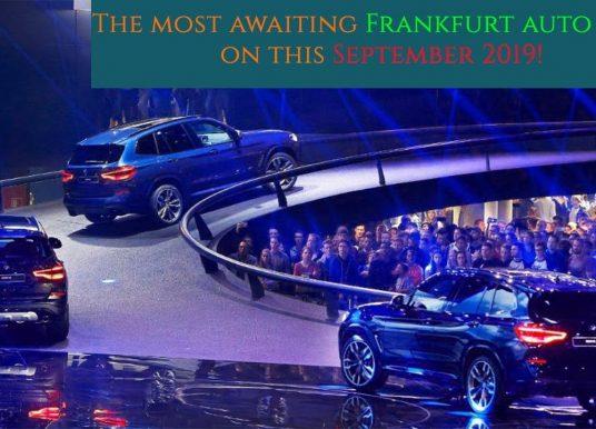Salon de l'automobile de Francfort 2019: quoi de neuf?