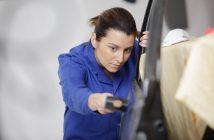 comment réparer porte voiture bloquée
